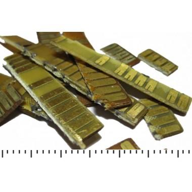 Ламели желтые советские полные за 1 кг
