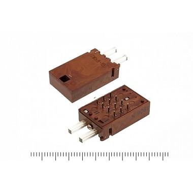 ПКн8, за секцию, 2 ряда, 6 контактов